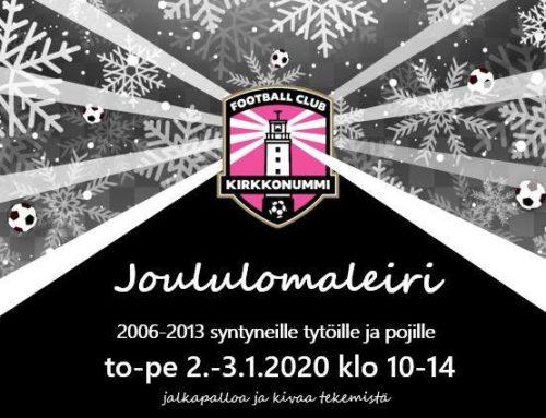 Joululomaleiri 2.-3.1.2020
